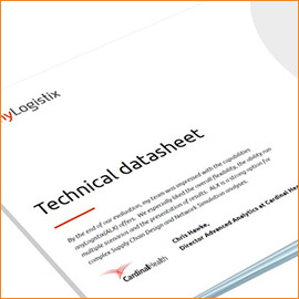 anyLogistix Datasheet – Software's Feature Guide