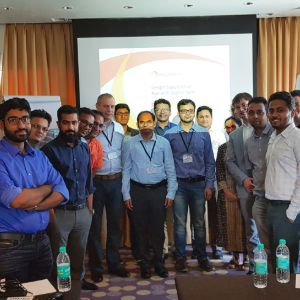 Attendees at anyLogistix Supply Chain Design and Optimization training in Bangalore