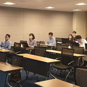 Attendees at anyLogistix Supply Chain Design and Optimization training in Seoul